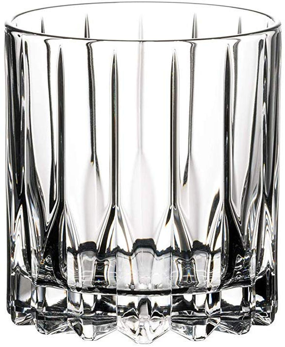 Riedel 6417/01 Drink Cocktail Glassware Neat Cocktail Glass, 6 oz, Clear