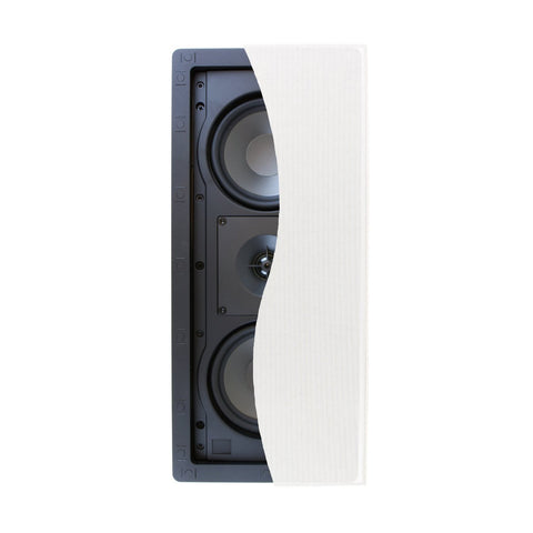 "Klipsch R-2502-W II 5.25"" In-Wall LCR Speaker - Each (White)"