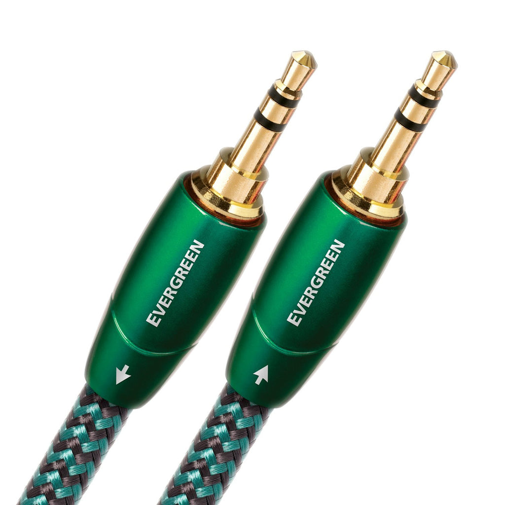 Audioquest Evergreen Audio Interconnect 1.0m (3 feet 4 inches) 3.5mm to 3.5mm