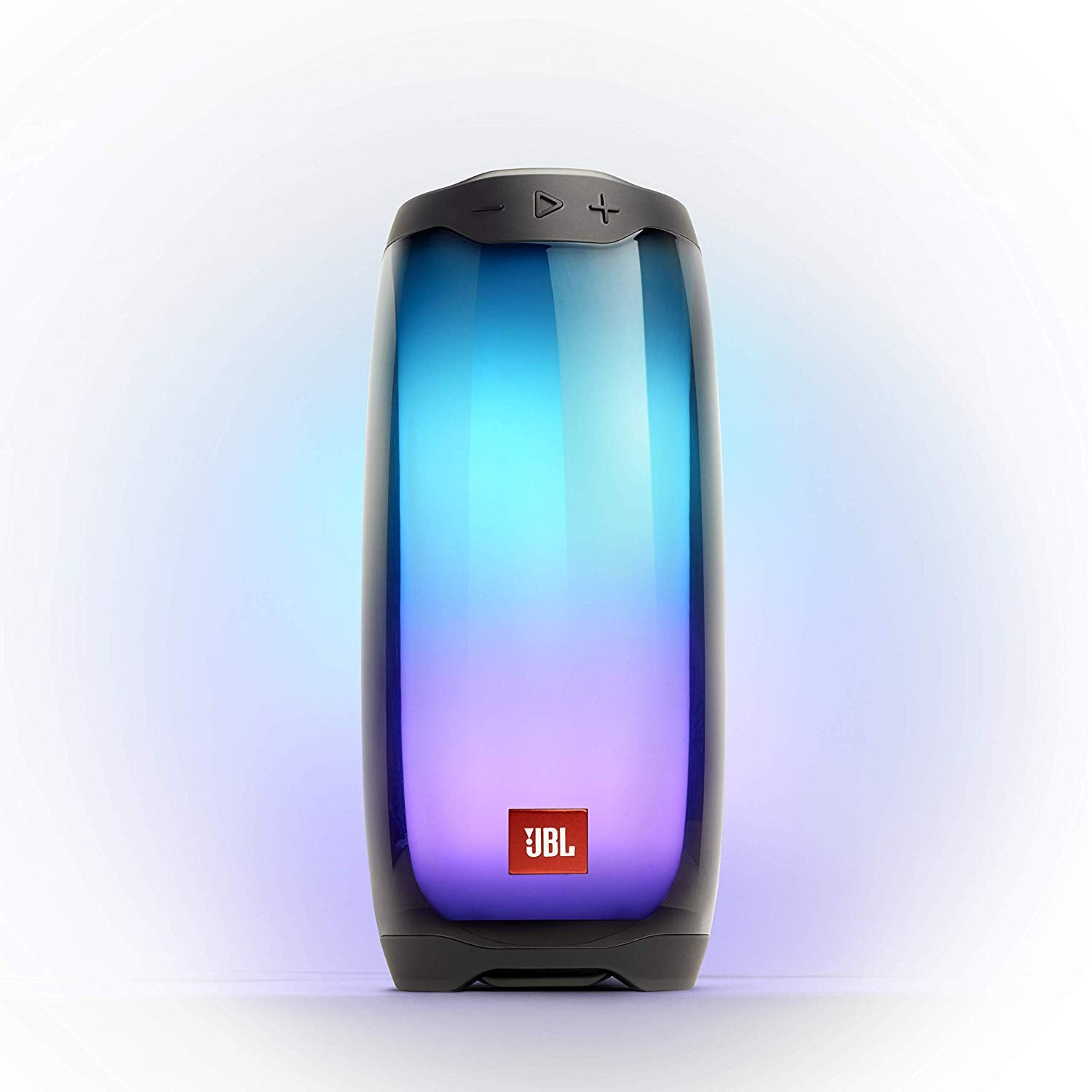 JBL Pulse 4 Portable Bluetooth Speaker with LEDs - Black - OPEN BOX