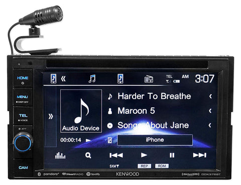 "Kenwood DDX376BT 6.2"" in-Dash Car DVD Monitor Bluetooth Receiver"