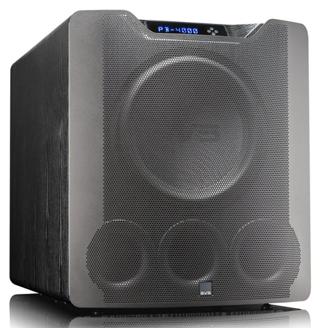 "SVS SB-4000 13.5"" 1200W Sealed Box Subwoofer (Premium Black Ash)"