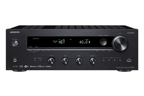 Onkyo Powerful 2 Channel Audio Component Receiver Black (TX-8270)