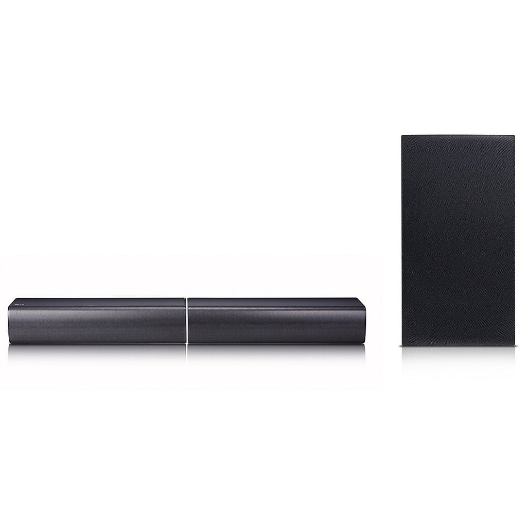 LG SJ7 Sound Bar Flex - Dual Speaker System with Wireless Subwoofer (2017)
