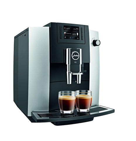 Jura E6 Automatic Coffee Center Platinum, (15070)