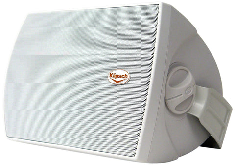 "Klipsch AW525 5.25"" Reference All-Weather Outdoor Loudspeaker - Pair (White)"