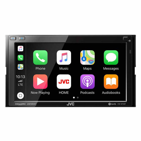 "JVC KW-M75BT Digital Media Receiver with a 6.8"" Touch Monitor"