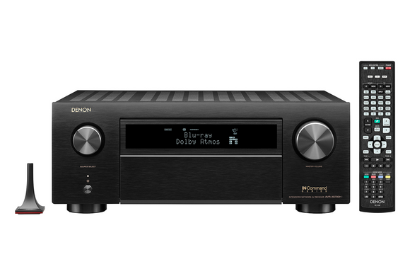 Denon AVR-X6700H 11.2 Ch. 8K AV Receiver with 3D Audio, HEOS® Built-in and Voice Control