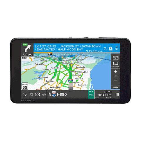 Rand McNally TND 540 LM 5in GPS Truck Navigator , Renewed