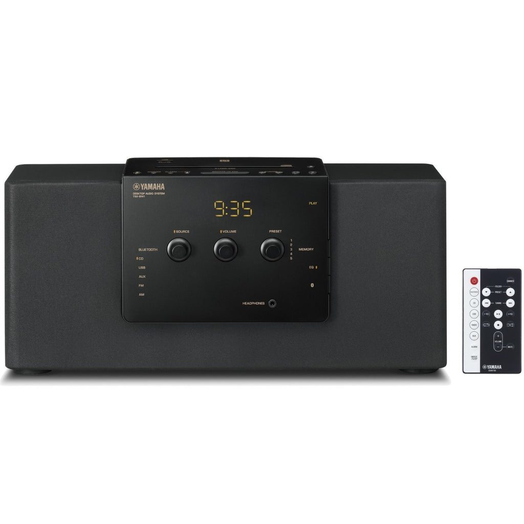 Yamaha TSX-B141BL Desktop Audio System with Bluetooth (Black)