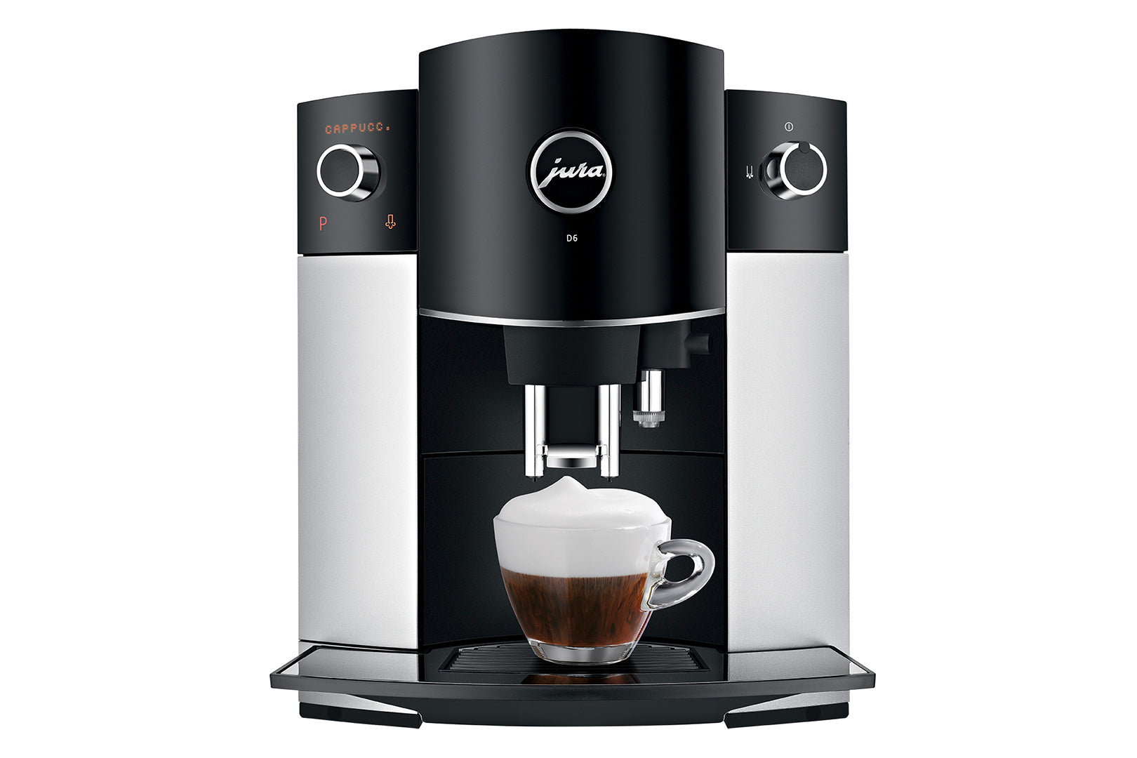 Jura D6 Automatic Coffee Machine 15216 - Platinum
