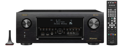 Denon Receiver Audio & Video Component Receiver,Black (AVRX4300H)