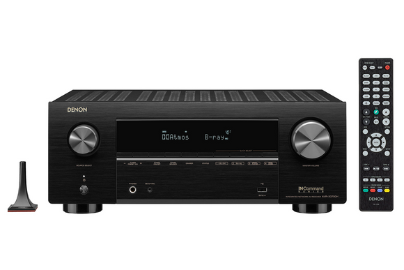 Denon AVR-X3700H 9.2 Channel 8K AV Receiver with 3D Audio, Dolby Atmos, Dolby Atmos Height Virtualization Technology, DTS:X, DTS Virtual:X, and IMAX Enhanced