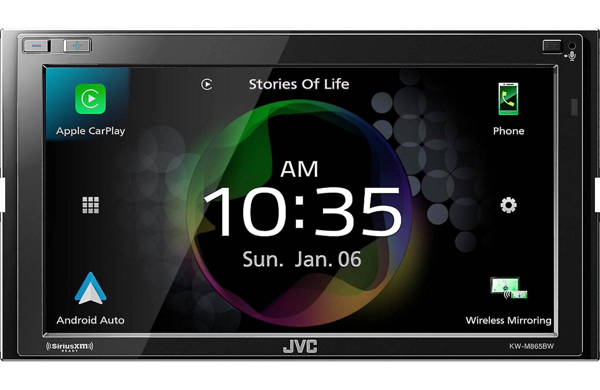 JVC KW-M865BW Digital multimedia receiver (does not play CDs)