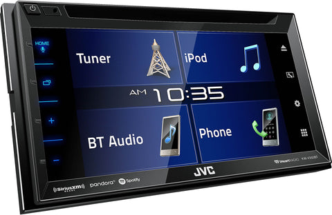 JVC KW-V350BT DVD Multimedia Receiver with Bluetooth