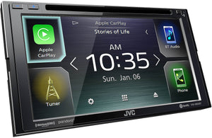 "JVC KW-V850BT CD/DVD/DM  Multimedia Receiver 6.8"" Screen"