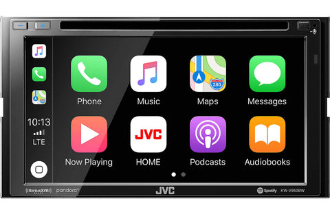 JVC KW-V950BW CD/DVD MultiMedia Receiver