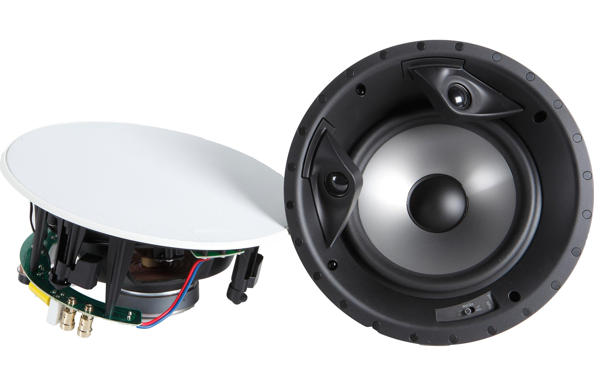 "Polk Audio 80F/X-RT In-Ceiling 8"" Woofer White, Pair"