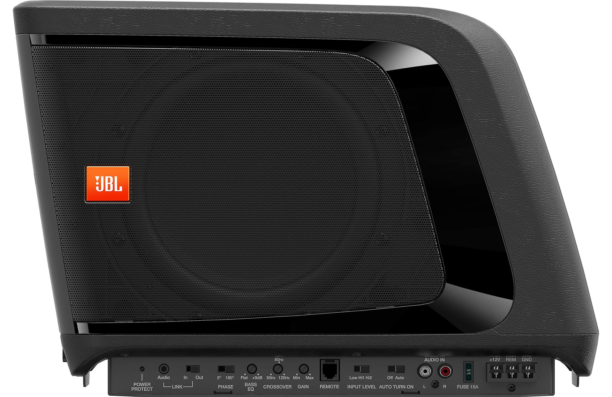 "JBL BassPro Micro 140W RMS Single 8/"" Dockable Powered Subwoofer Open Box"