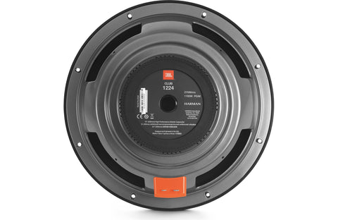 "JBL Club 1024 10"" Component Subwoofer with Switchable 2- or 4-ohm"