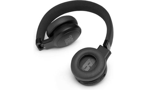 JBL Live 400BT Wireless On-Ear Headphones with Voice Control (Black)