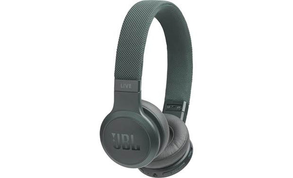 JBL Live 400BT Wireless On-Ear Headphones with Voice Control (Green)