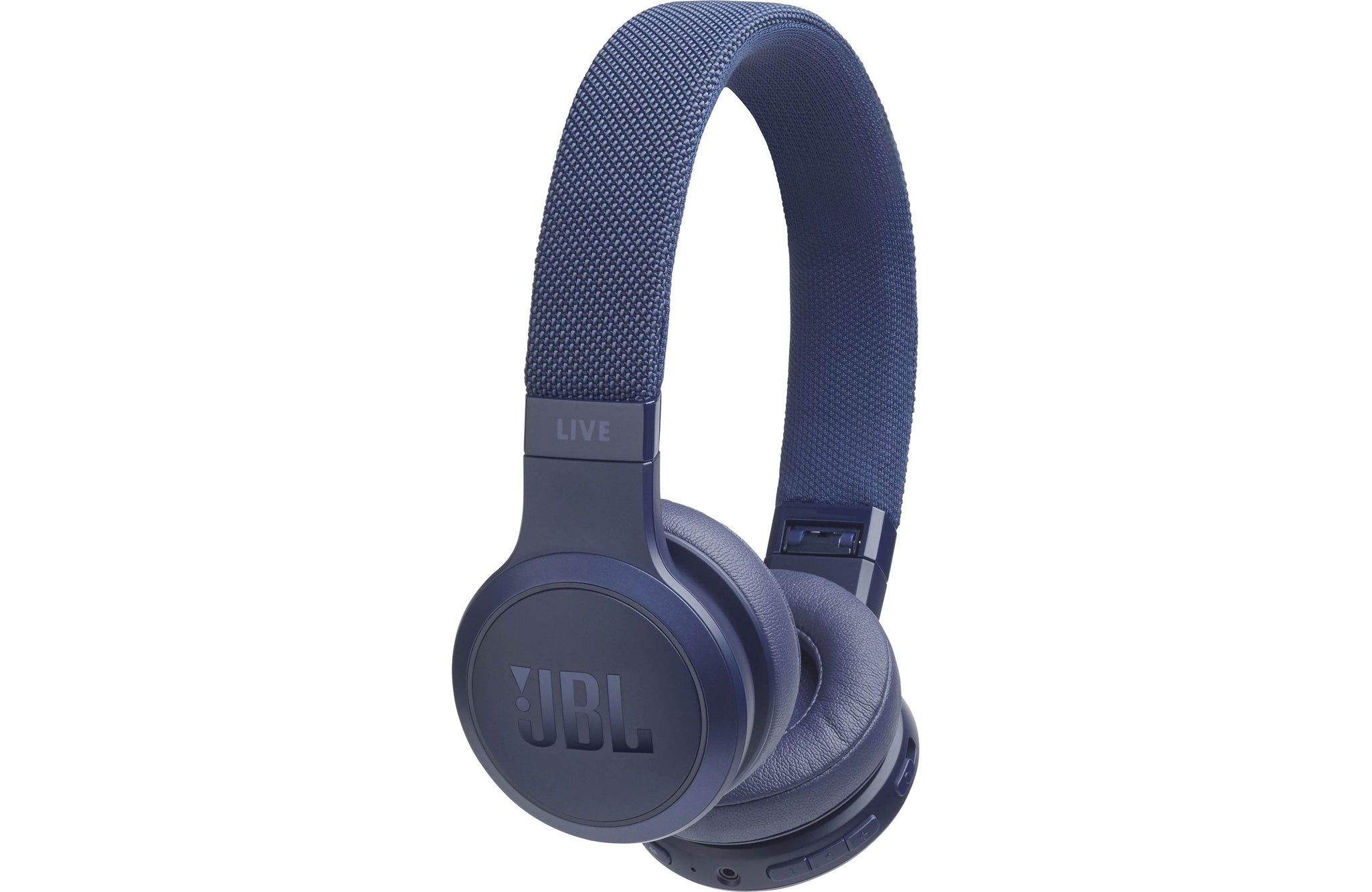 JBL Live 400BT Wireless On-Ear Headphones with Voice Control (Blue)