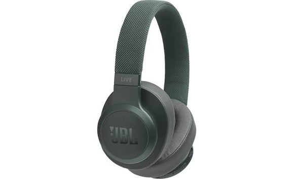 JBL Live 500BT Wireless Over-Ear Headphones with Voice Control (Green)