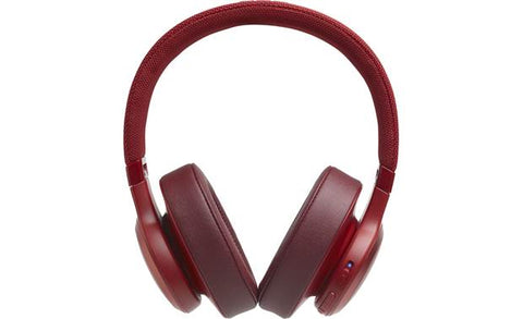 JBL Live 500BT Wireless Over-Ear Headphones with Voice Control (Red)