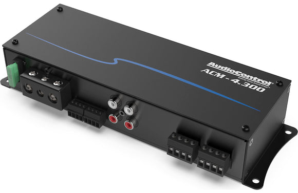 AudioControl ACM-4.300 ACM Series compact 4-channel Car Amplifier