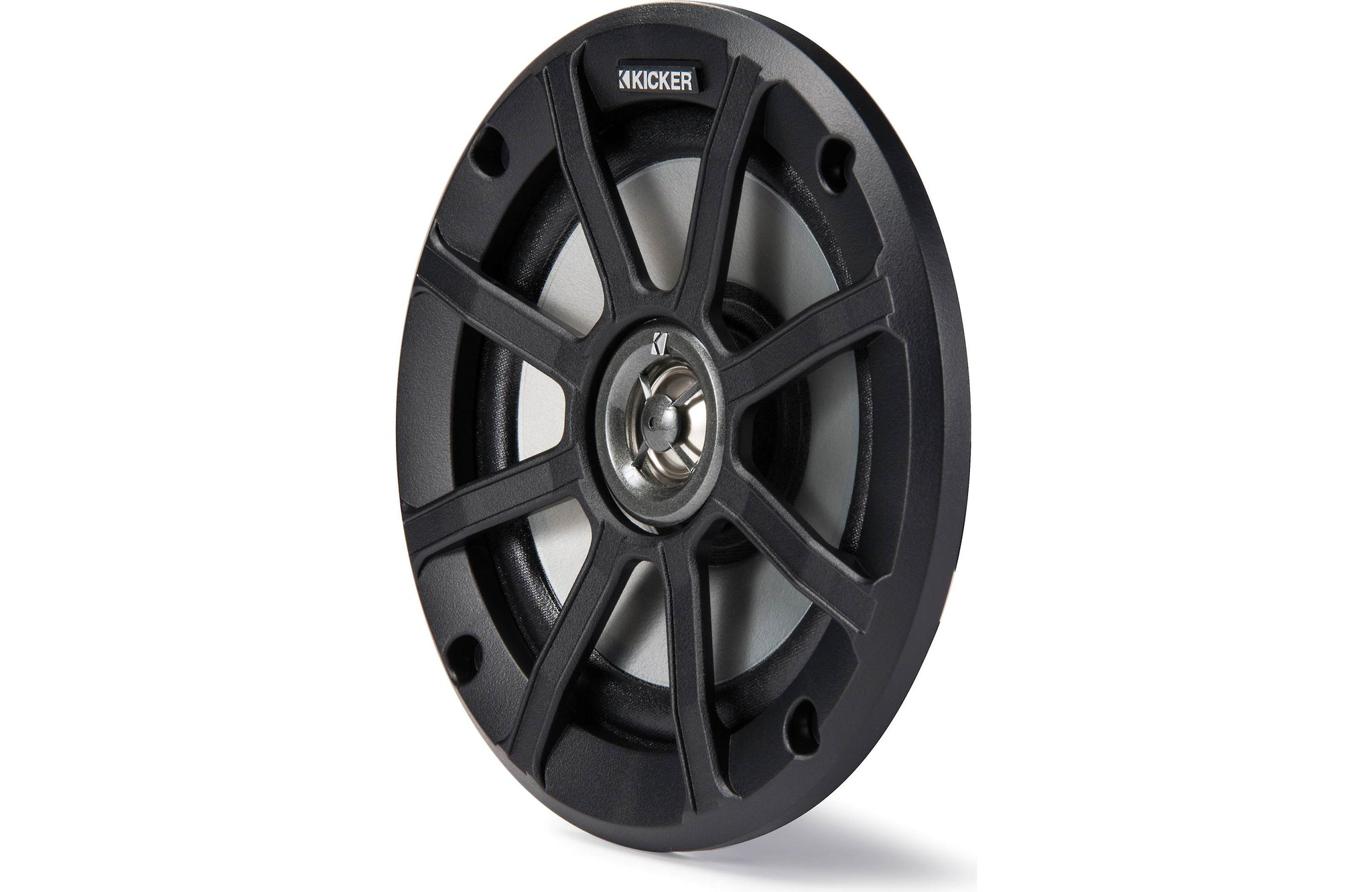 Kicker PSC654 PowerSports Weather-Proof Coaxial Speakers, 4-Ohm