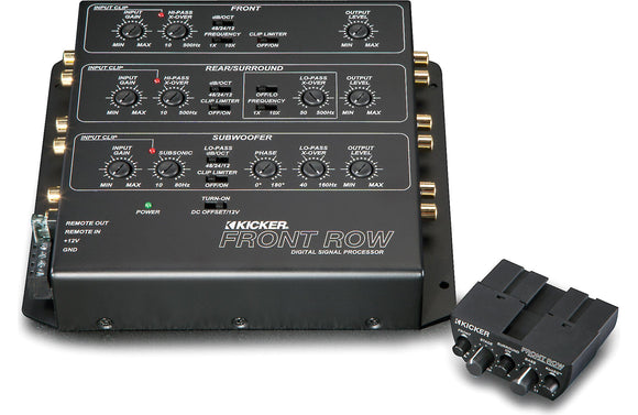Kicker Front Row 12 ZXDSP1 6-Channel Digital Signal Processor
