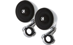 "Kicker 40PSM32 100"" 3"" Weather-Proof Enclosed Mini 2 ohm Speaker System"