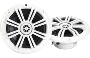 "Kicker 41KM604W 6-1/2"" 6.5"" KM-Series 150W Peak/50W RMS Marine Speakers"