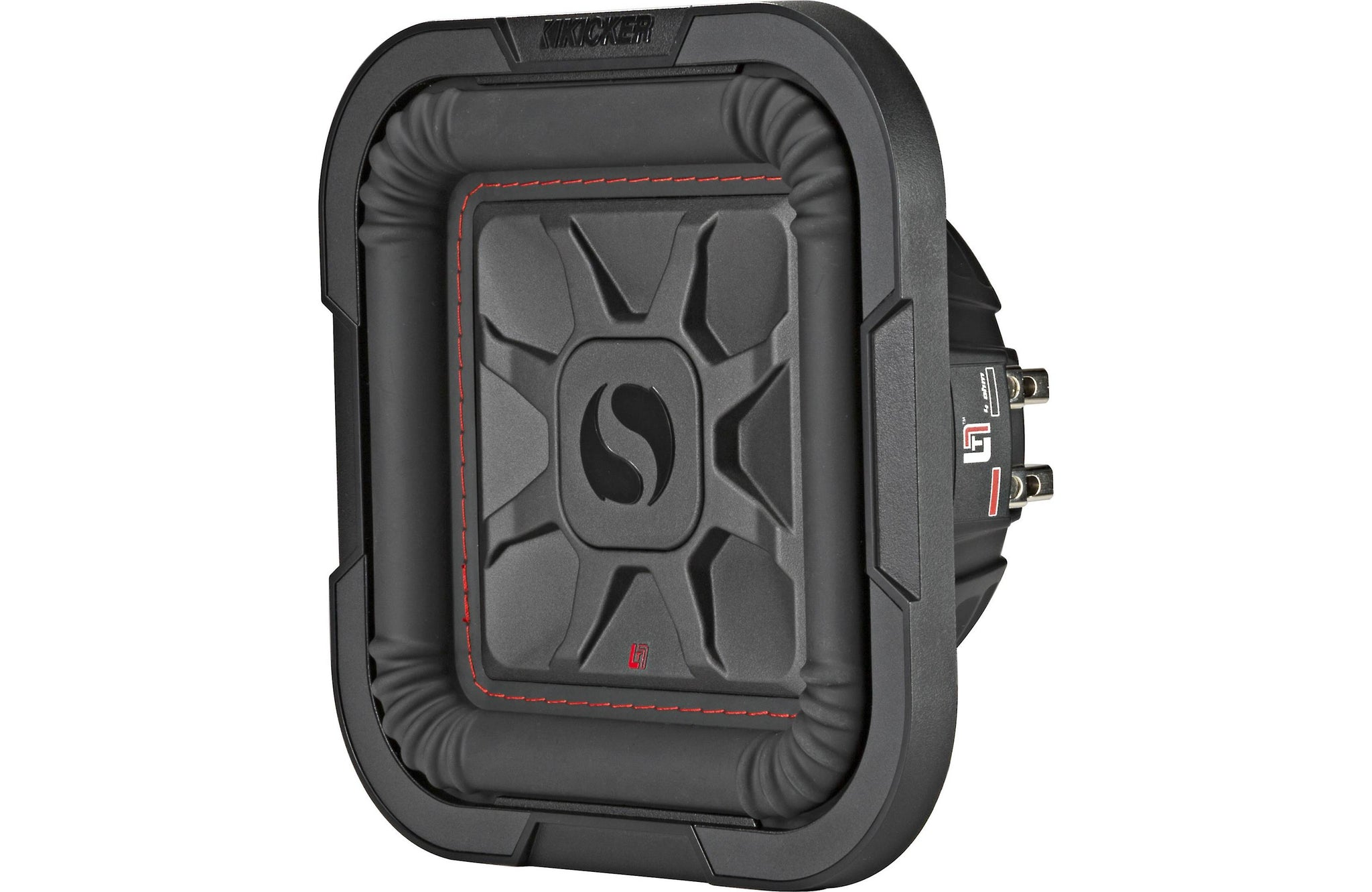 "Kicker 46L7T82 Car Audio L7T Shallow Mount 8"" Sub Square L7 Subwoofer"