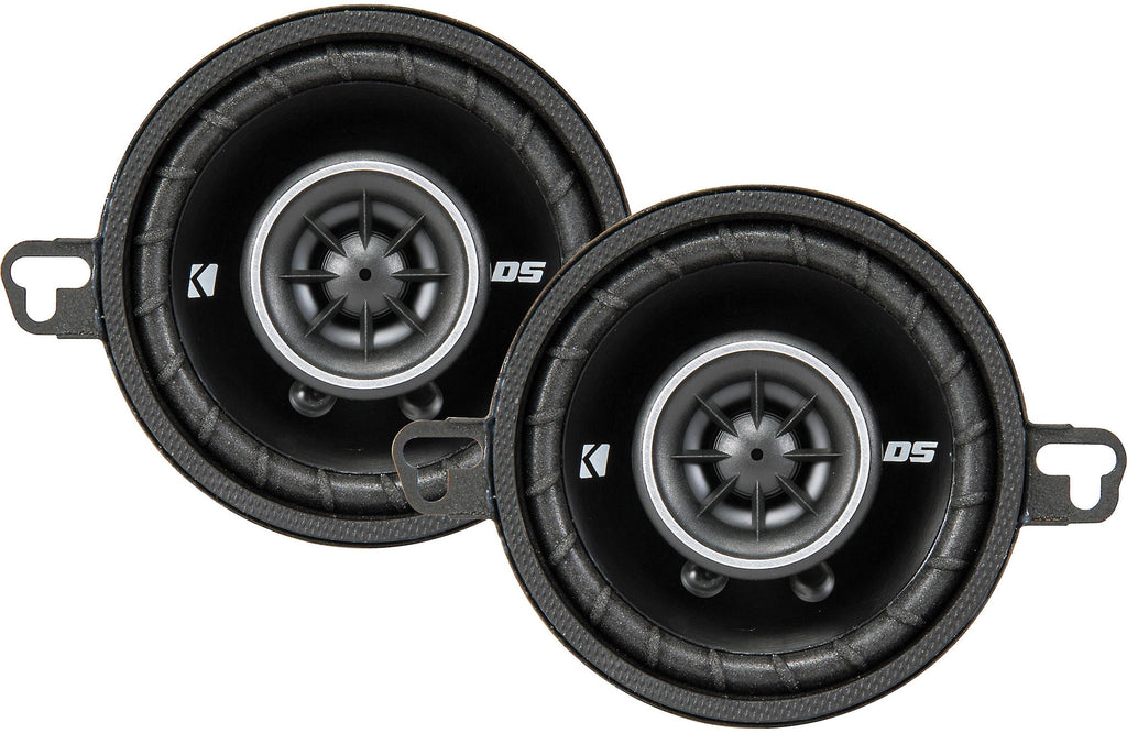 "Kicker 43DSC3504 DS Series 3-1/2"" 2-Way Car Speakers"