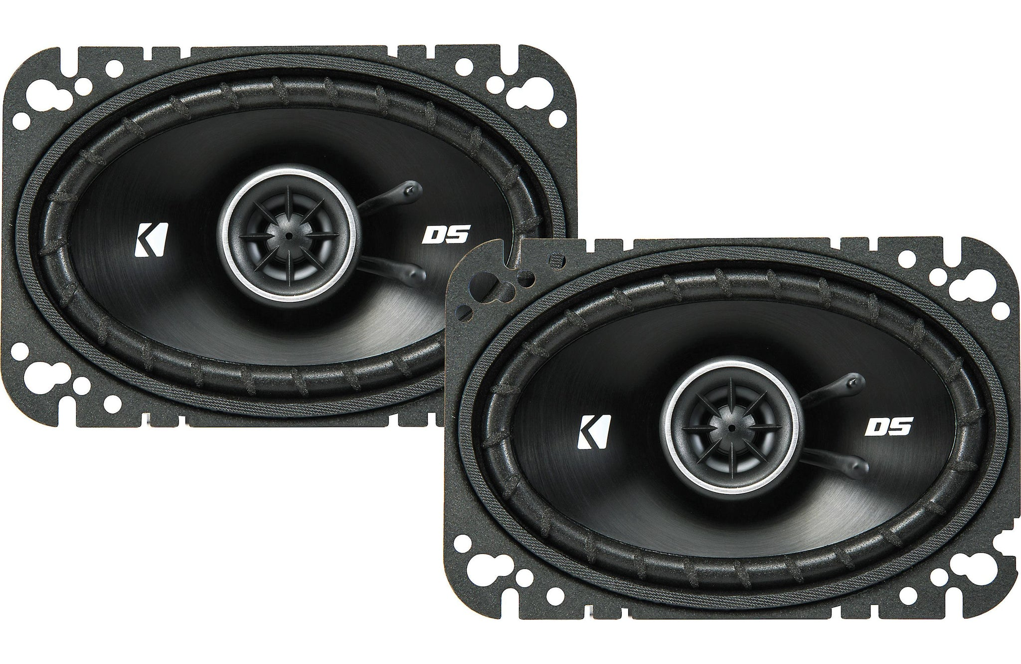 "Kicker 43DSC4604 DS Series 4""x6"" 2-Way Car Speakers"
