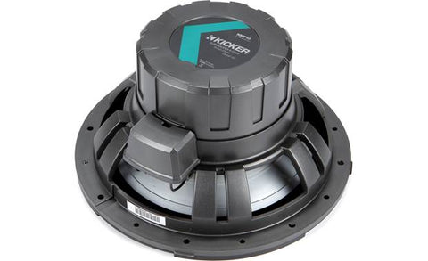 "Kicker 45KMF104 12"" 4-ohm Marine Subwoofer  Weather-Proof"