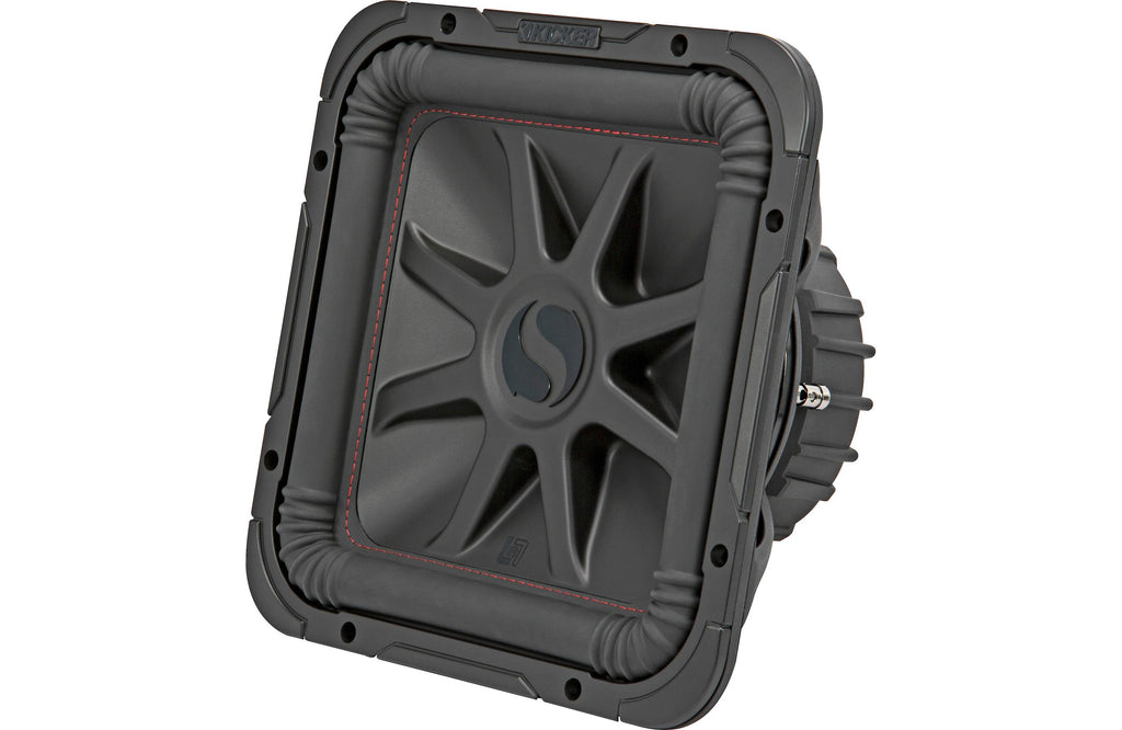 "Kicker 45L7R124 L7R Series 12"" Subwoofer with Dual 4-ohm Voice Coils"