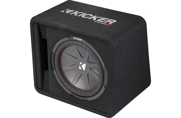 Kicker 43VCWR122 Ported Enclosure With One 12