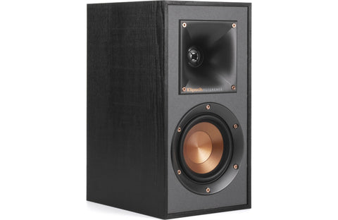 Klipsch Reference R-41M Black Bookshelf Speakers - Pair