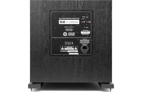 "ELAC Debut 2.0 SUB3030 12"" 1000 Watt Powered Subwoofer, Black"