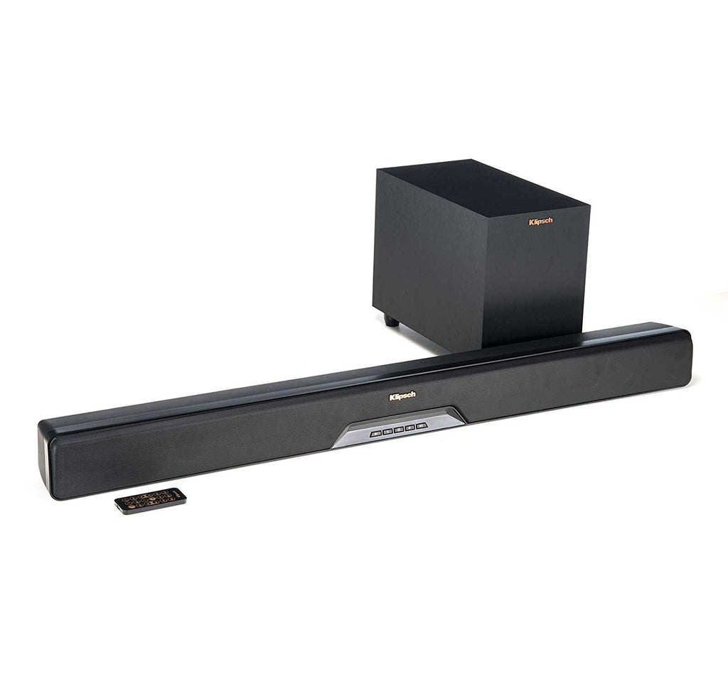 Klipsch RSB-8 Sound Bar with Wireless Subwoofer (Certified Refurbished)