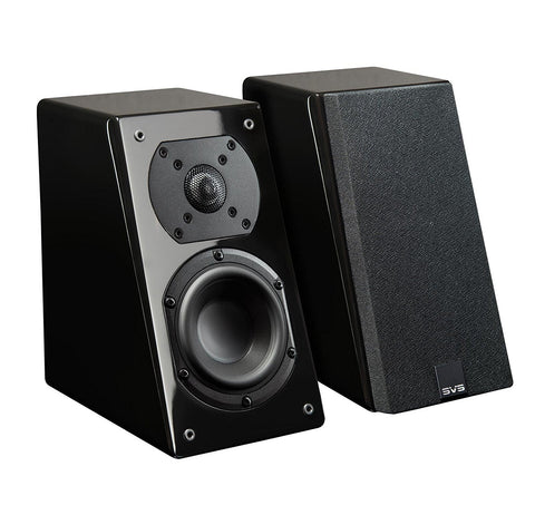SVS Prime Elevation Speakers - Pair (Black Piano Gloss)