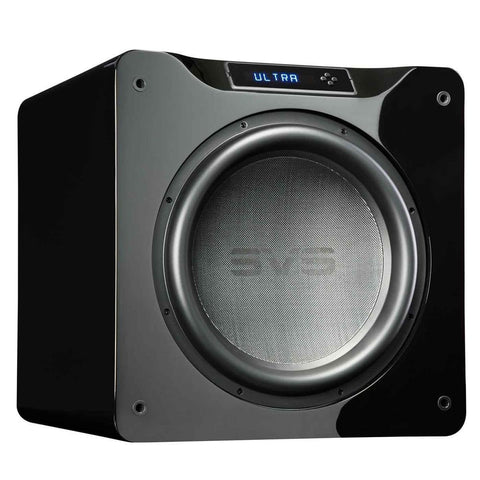 "SVS SB16-Ultra 1500 Watt DSP Controlled 16"" Subwoofer (Piano Gloss Black)"