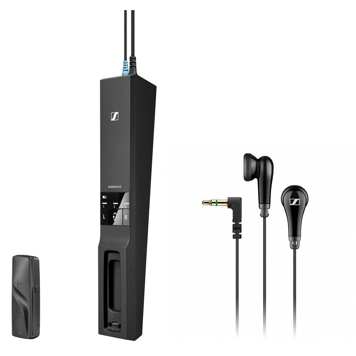 Sennheiser Flex 5000 Digital Wireless Audio Transmitter and Receiver with MX 475 Earphones