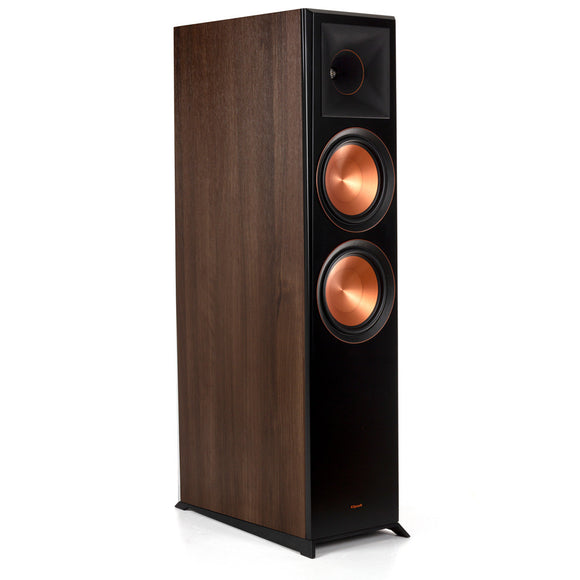 Klipsch RP-8060FA Floorstanding Speaker with Dolby Atmos - Each Walnut