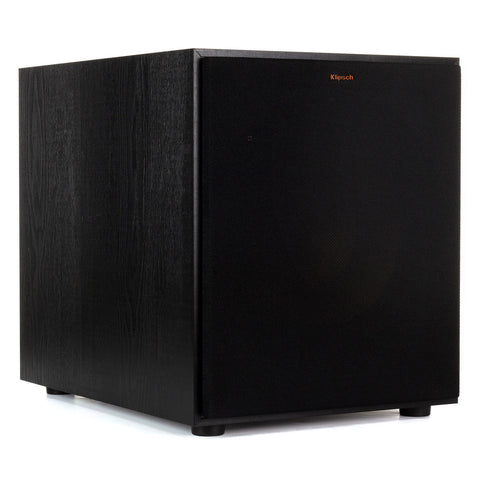 "Klipsch R-120SW 12"" Subwoofer (Black Brushed Vinyl)"