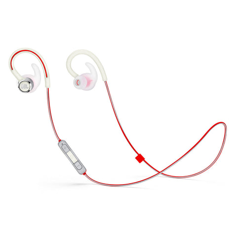JBL Reflect Contour 2 Sweatproof Wireless Sport In-Ear Headphones - WHITE