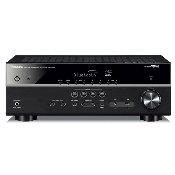 Yamaha RX-V485BL 5.1 Channel AV Network Receiver with Wi-Fi and Bluetooth Open Box